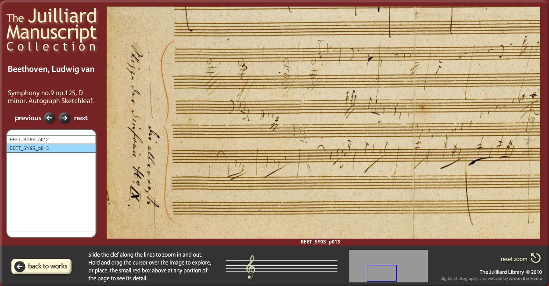 Juilliard Manuscript Collection 1