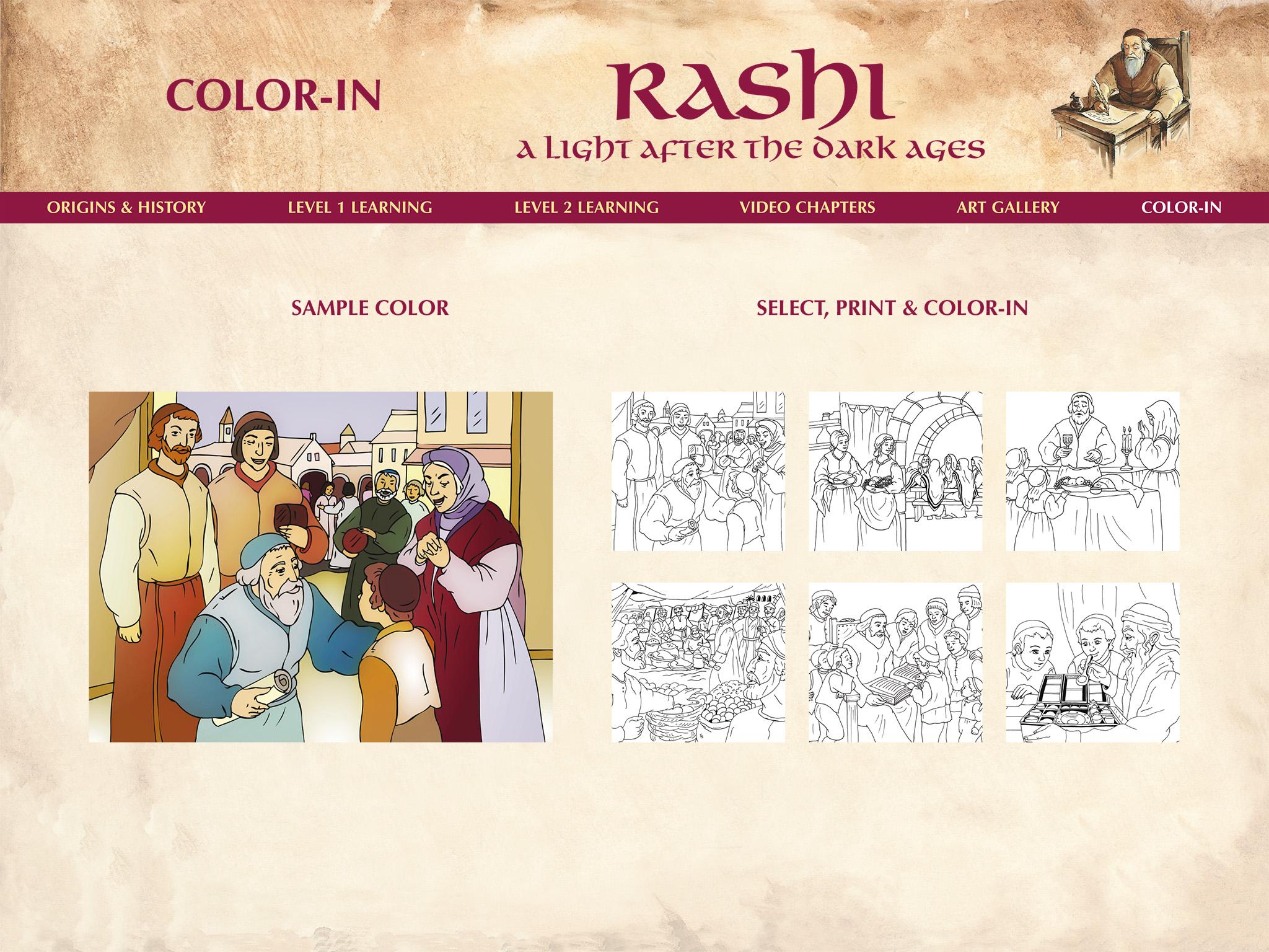 Rashi Color In